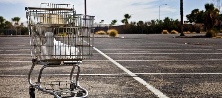 Carrelli abbandonati: 10 cose da tener presente